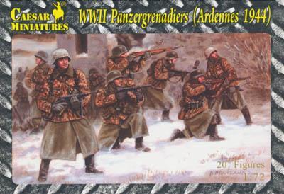 HB02 - WWII Panzergrenadiers (Ardennes 1944) 1/72