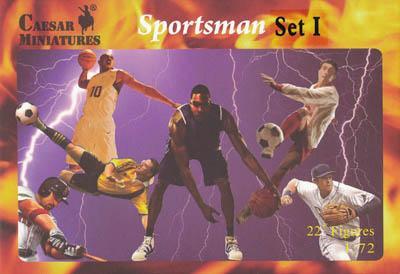 HB20-1 - Sportsmen Set I (Football) 1/72