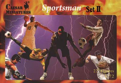 HB20-2 - Sportsmen Set II (Basketball) 1/72