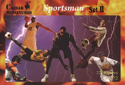 HB20-2 - Sportsmen Set II (Basketball) 1/72