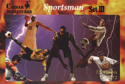 HB20-3 - Sportsmen Set III (Baseball) 1/72