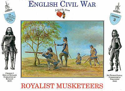 3203 - Royalist Musketeers