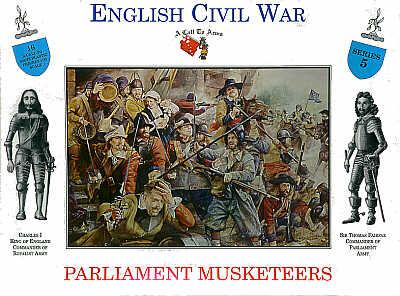 3205 - Parliament Musketeers