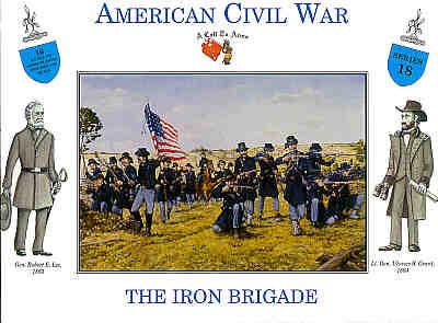 3218 - American Civil War Union Infantry Iron Brigade