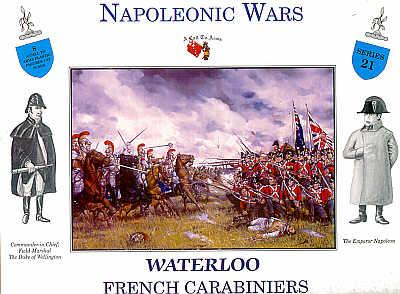 3221 - Waterloo French Carabiniers