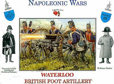 3222 - British Foot Artillery Waterloo