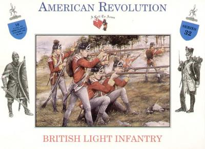 3232 - British Light Infantry American Revolution