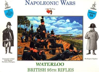3235 - British 95th Rifles Waterloo