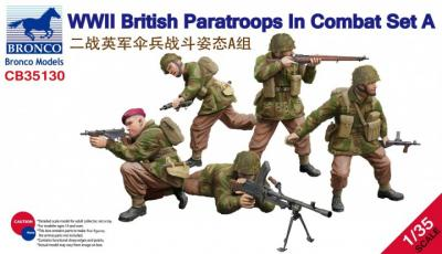 35130 - WWII British Paratroops In Combat Set A