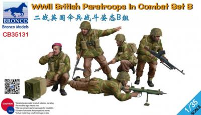 35131 - WWII British Paratroops In Combat Set B