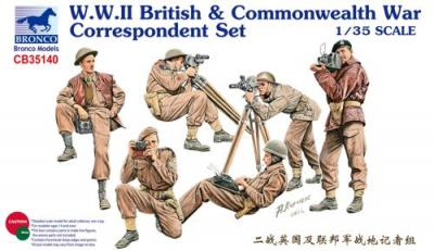 35140 - WWII British & Commonwealth War Correspondent Set