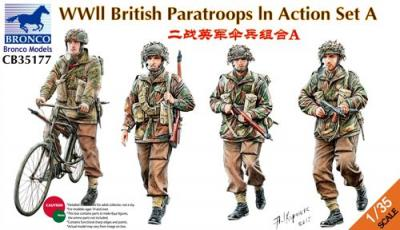 35177 - WWII British Paratroops in Action Set A