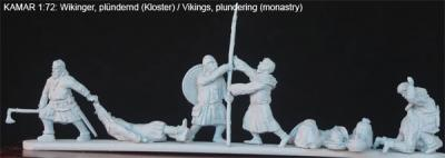 ma-vik-021 Vikings pillant un monastère 1/72