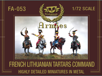 FA-053 French Lithuanian Tartars Command 1/72