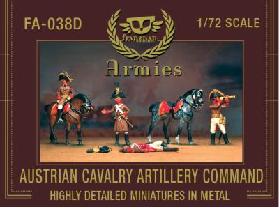 FA-038D Austrian Cavalry Artillery Command 1/72