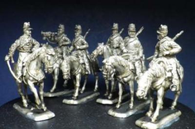 Chasseurs d'Afrique set 1 - 1/72 miniatures