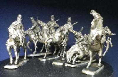 Chasseurs d'Afrique set 2  1/72 miniatures