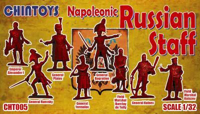 CHT005 - Napoleonic Russian Staff 1/32