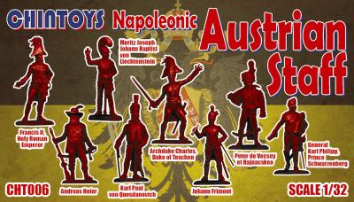 CHT006 - Napoleonic Austrian Staff 1/32