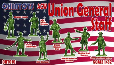 010 - ACW/American Civil War Union General Staff