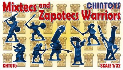 015 - Mixtecs and Zapotecs Warriors