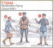 72044 - 3 Richtofen Flying Circus WWI 1/72
