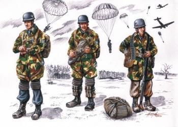 72075 - Fallschirmjager WWII x 3 1/72