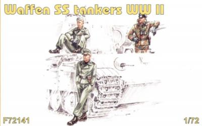 72141 - Waffen SS tankers WWII 1/72