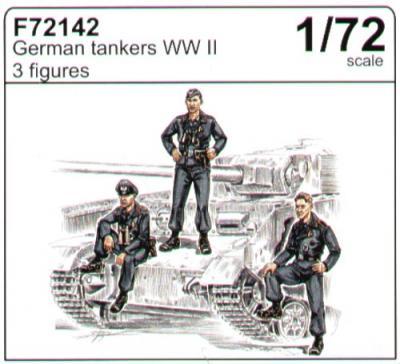 72142 - German (WWII) tankers WWII 1/72