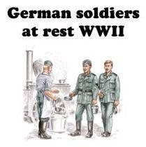 72143 - German (WWII) soldiers WWII 1/72
