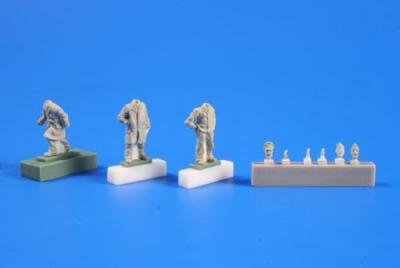 72249 - Type IXC U-Boat Crew returning from a cruise part. II (3 fig) 1/72