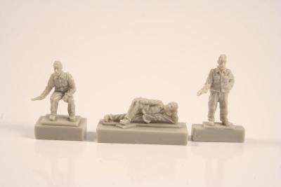 72251 - Type IXC - Crew at rest in quarters 1/72 (3 fig) 1/72