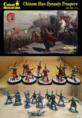 H043 - Chinese Han Dynasty troopers 1/72