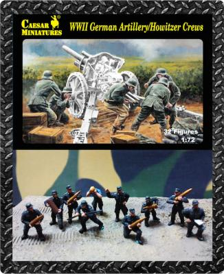 084 - German Artillery/Howitzer Crews WWII 1/72