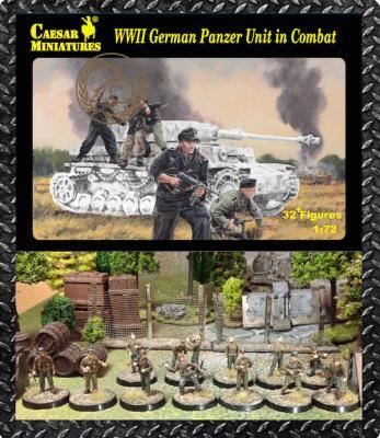 085 - German Panzer Unit in Combat WWII 1/72