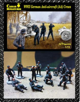 089 - German Anti-aircraft (AA) Crews WWII 1/72
