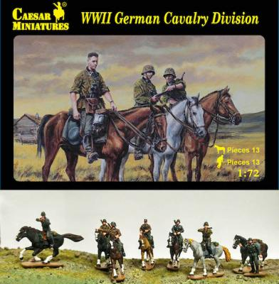 H092 - German Cavalry Division  1/72