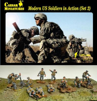 094 - Modern U.S. Soldiers In Action set 2 1/72