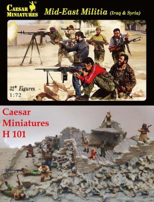 101 - Middle Eastern Militia (Iraq & Syria) 1/72