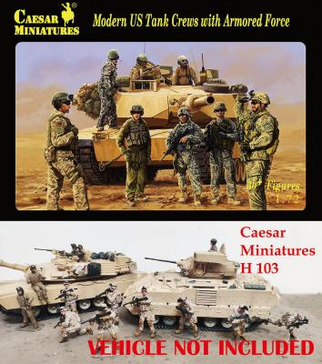103 - Modern US Tank Crews with Armored Force 1/72