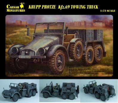 7203 - German Sd.Kfz 69 Towing Truck 1/72
