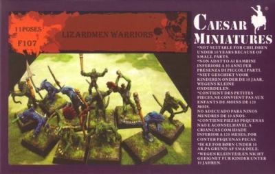 107 - Lizardmen Warriors 1/72