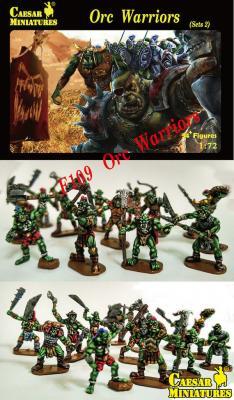 109 - Orc Warriors Set 2 1/72