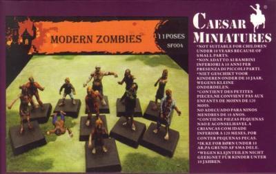 SF004 - Modern Zombies 1/72