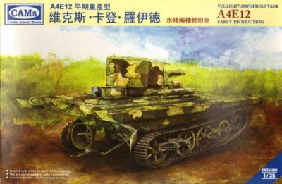 35001 - VCL Light Amphibious Tank A4E12 Early Production (Cantonese Troops National Revolutionary Army)