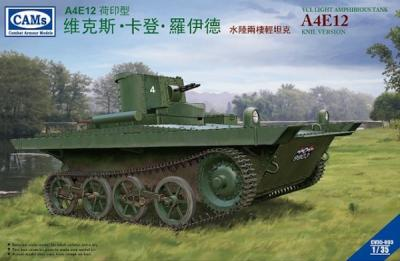 35003 - VCL Light Amphibious Tank A4E12 Royal Netherlands East Indies Army