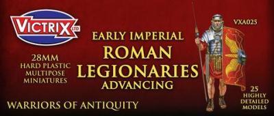 VXA025 28mm Roman Legionaries Advancing VITRIX