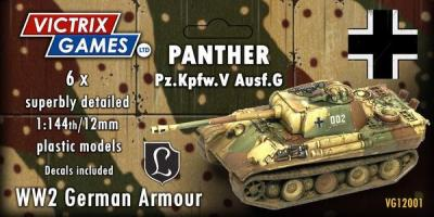 VG12001 VICTRIX GAMES - PANTHER PZ.KPFW- DUE SOON