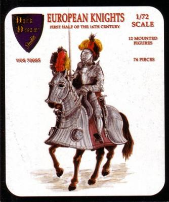 72005 - European Knights XVIe 1/72