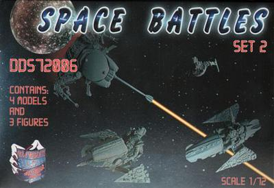 72006 - Space Battles Set 2 1/72